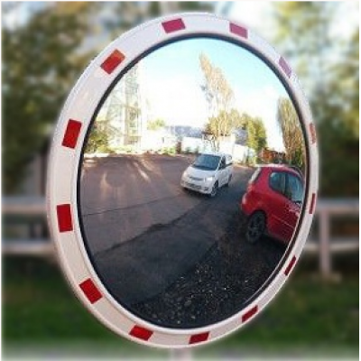 Дорожные зеркала со световозвращающейся окантовкой