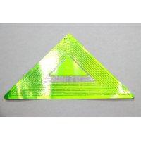 Защитная этикетка треугольной формы