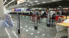 Гипермаркет продуктовых товаров. Установлены Моно антенны